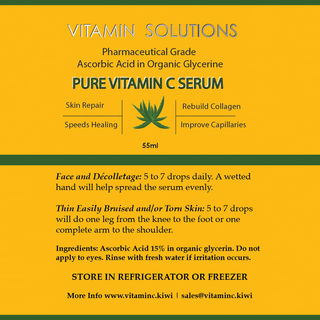 Vitamin C Serum 50ml Bottle